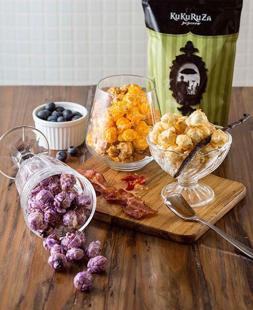 ククルザ ポップコーンの新フレーバー3種、ベリー・バニラ・メープルベーコン×チーズ | ニュース - ファッションプレス