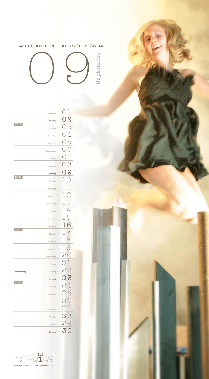 Rotwild Kalender September 2012