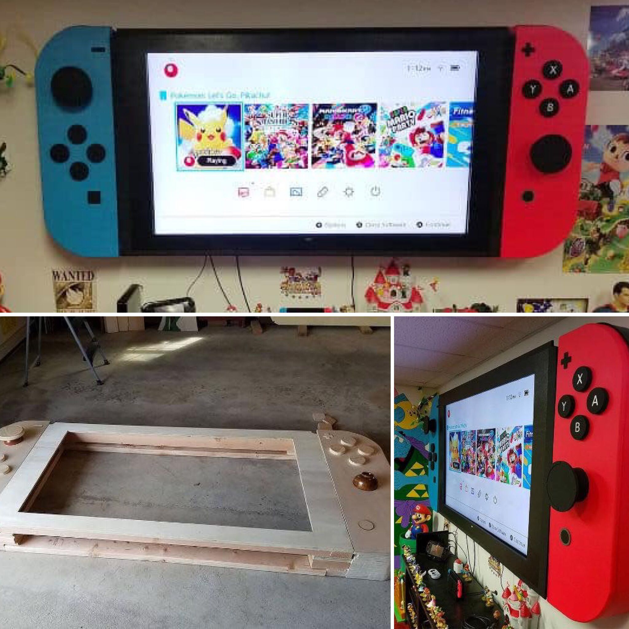 Lifesize Nintendo Switch! -   -