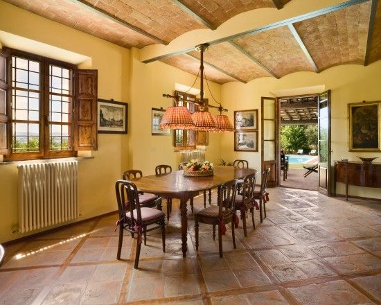 Renovated Tuscan Farm House Siena Italy