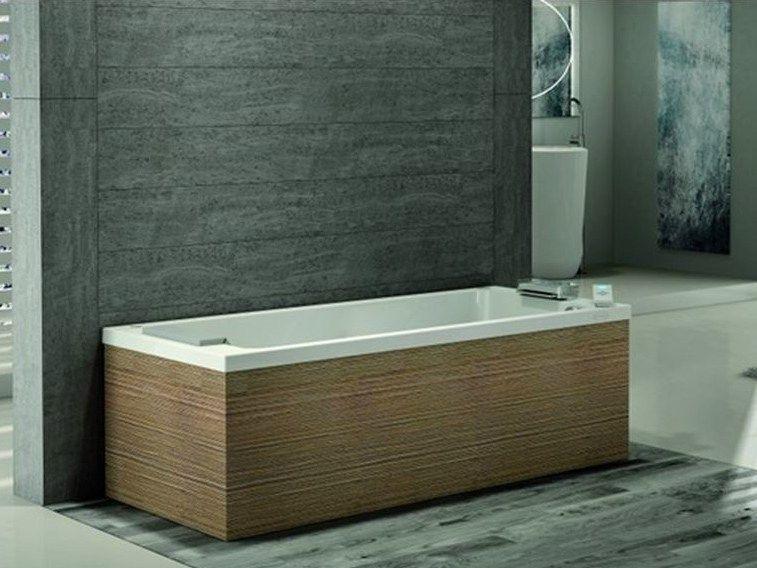 Vasca Da Bagno Jacuzzi : Vasca da bagno idromassaggio rettangolare sharp collezione
