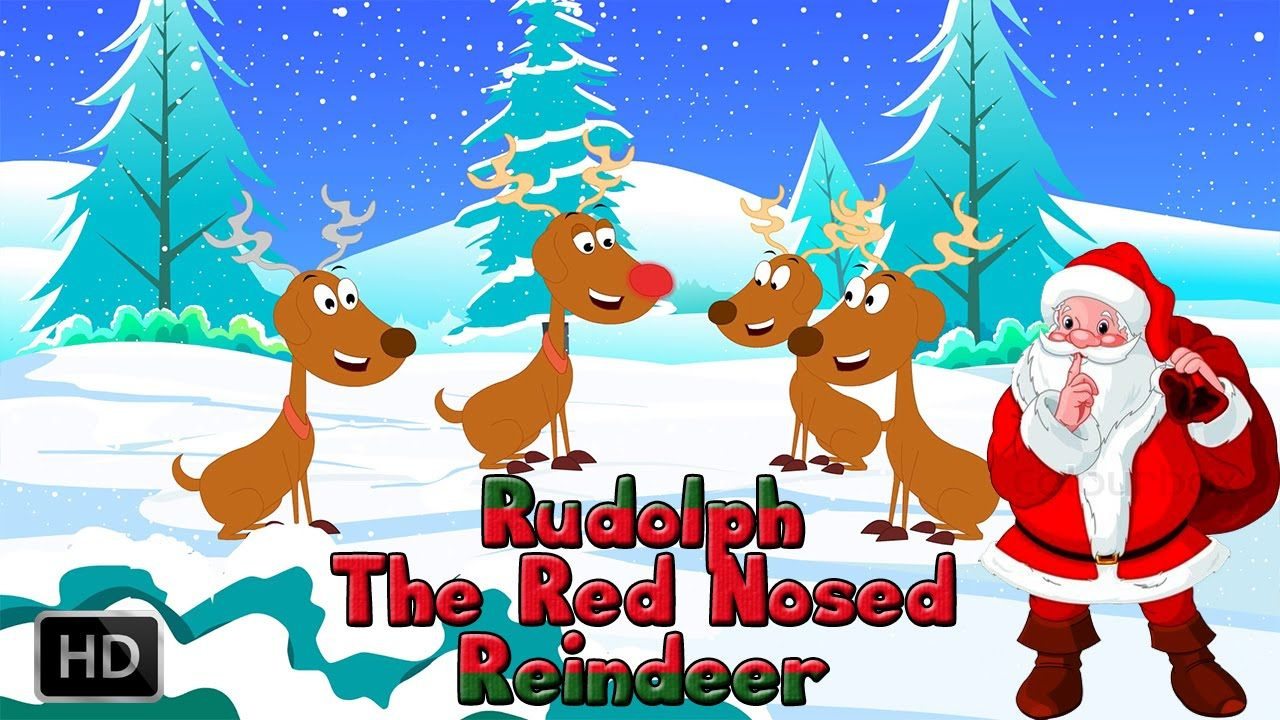 Rudolph The Red Nosed Reindeer Karaoke Instrumental Christmas Son Christmas Carols For Kids Red Nosed Reindeer Rudolph The Red