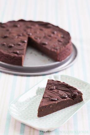 Clean Eating Schokoladenkuchen Rezept Backen Low Carb Pinterest