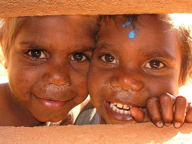 Aboriginal Children Docker River Community Aboriginal Children