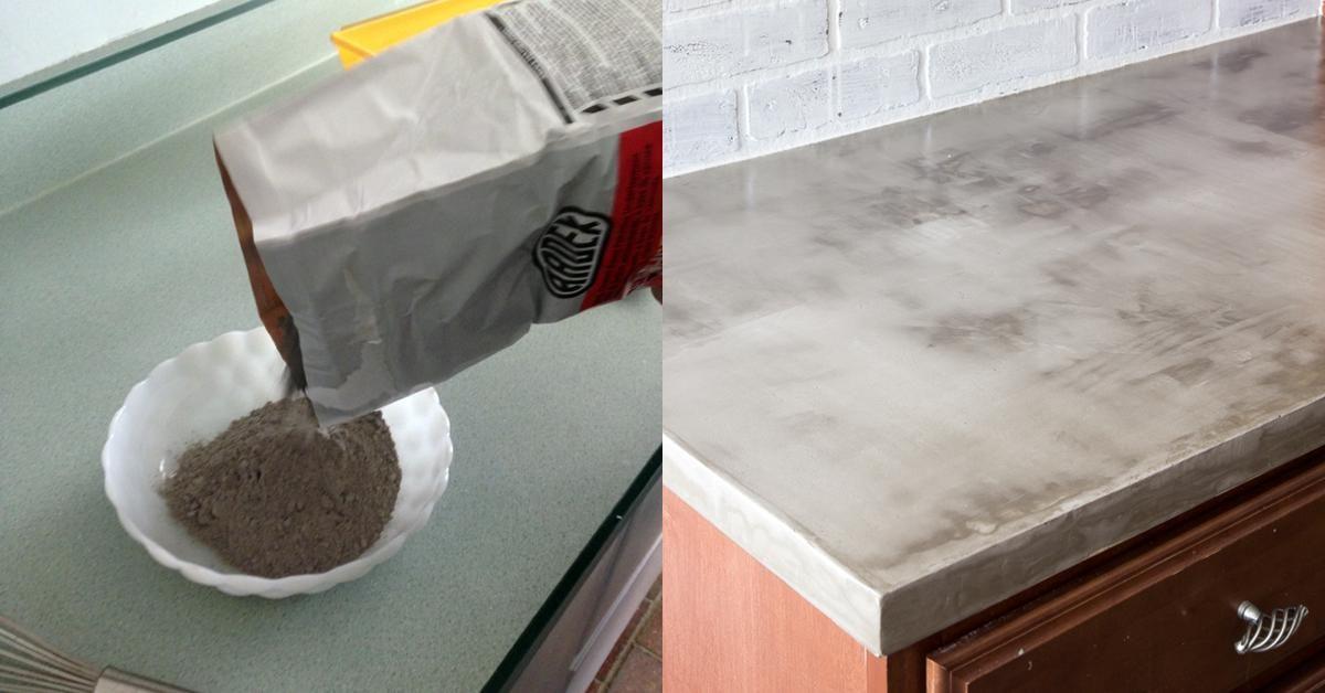 Neuer Look für alte Arbeitsplatte | Küche arbeitsplatte ...
