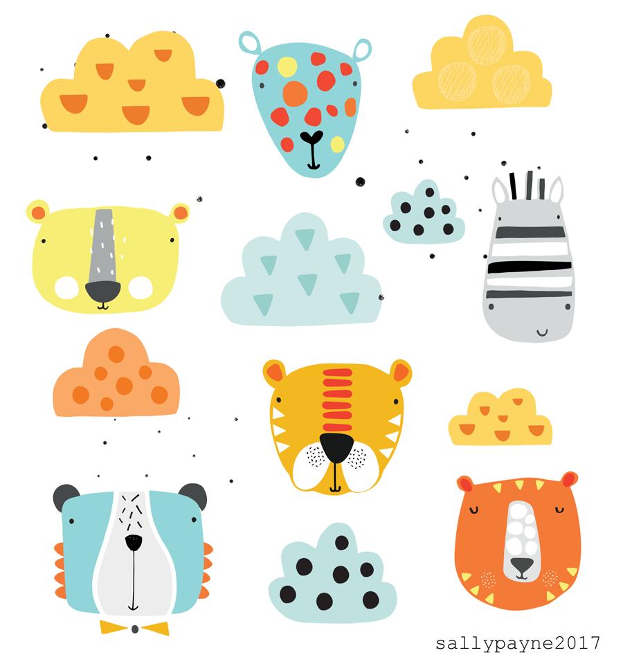 illustration and surface pattern | malen kinderzimmer | pinterest