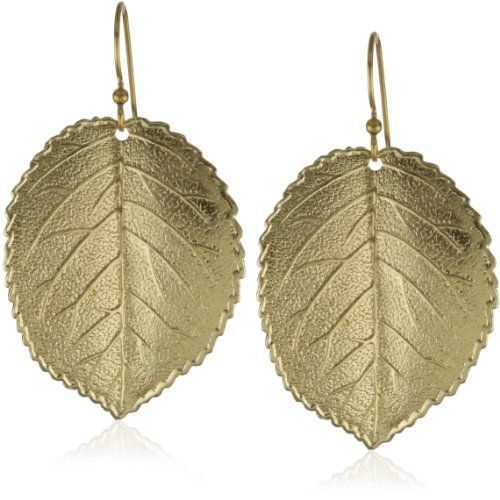 """Privileged NYC Gold plated Leaf Earrings 1.5"""" Privileged NYC. $45.00"""