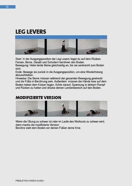 Freeletics Cardio Training Guide