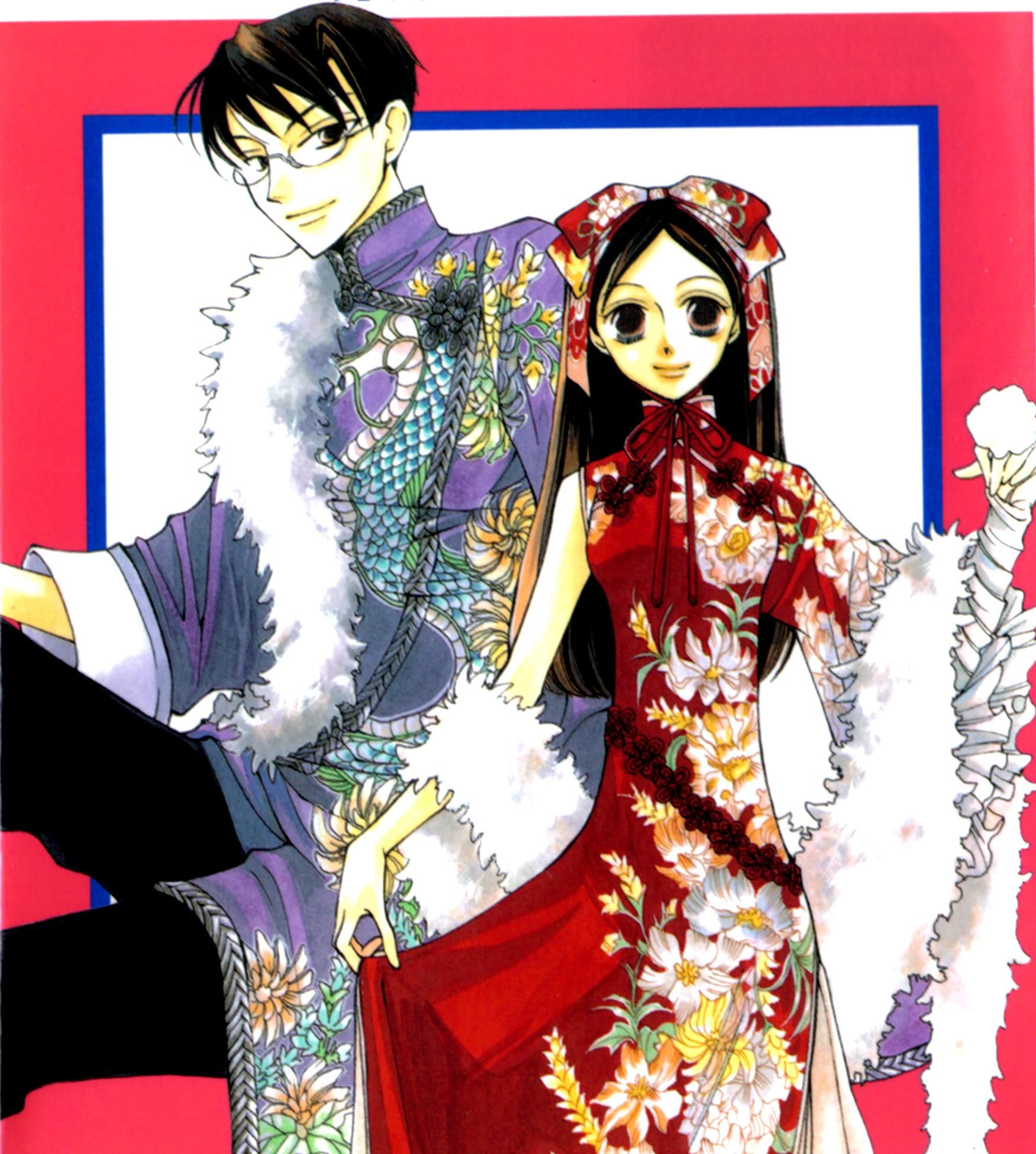 Haruhi and Kyoya, Oura...
