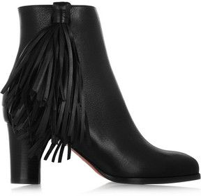53eaac330799 Christian Louboutin Jimmynetta 70 fringed leather ankle boots on shopstyle .co.uk