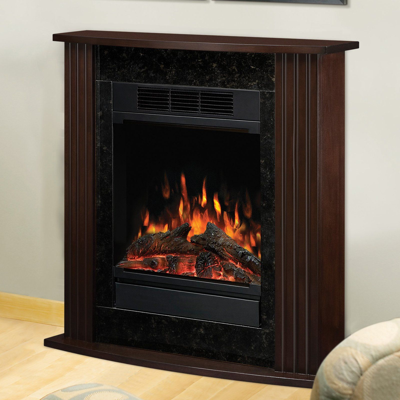 dimplex derby petite electric fireplace espresso 229 98 design