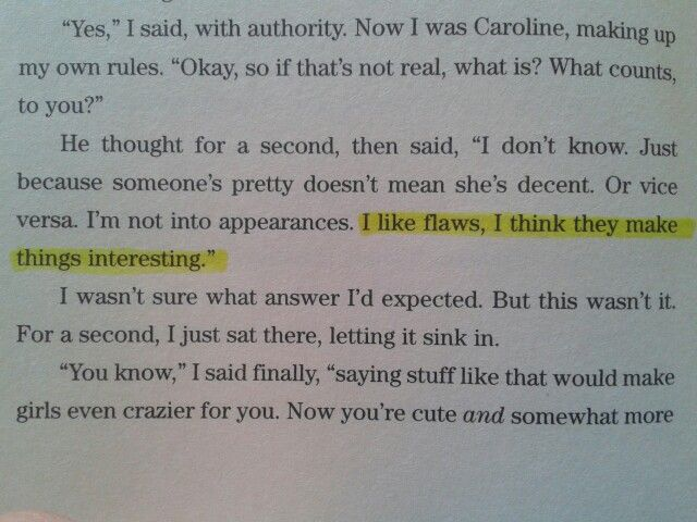 Wess Quote From The Truth About Forever By Sarah Dessen Words