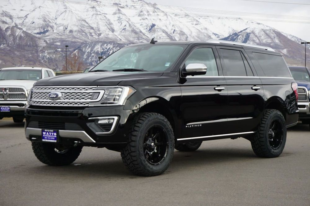 2018 Ford Expedition Platinum Lifted Suv New Expedtion Max