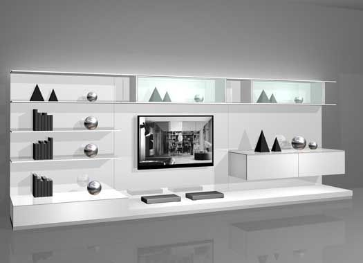 Wall Mounted Modern TV Cabinets For Small Living Room Designs White Wall  Mounted Modern TV Cabinets For Small Living Room Design 2 By Rimadesio U2013  Home ...