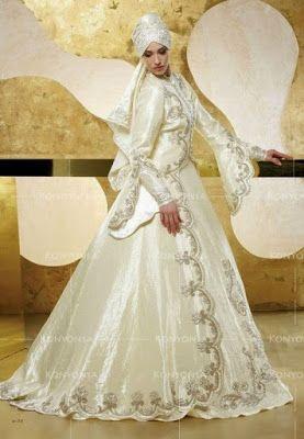 Image result for gaun pengantin timur tengah