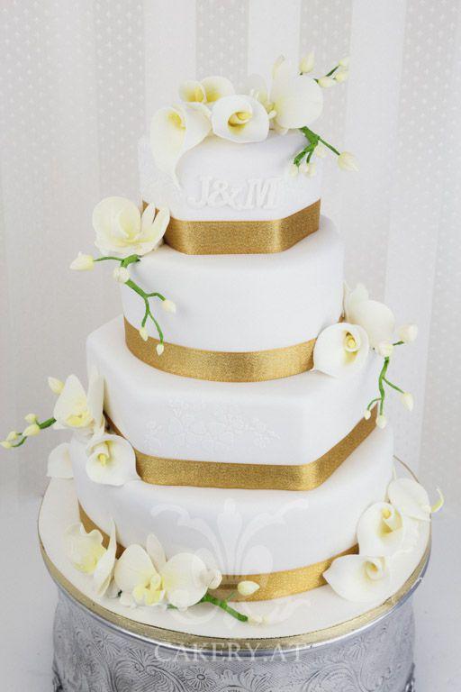 Hochzeitstorte Weiss Gold Google Suche Wedding Plans Wedding
