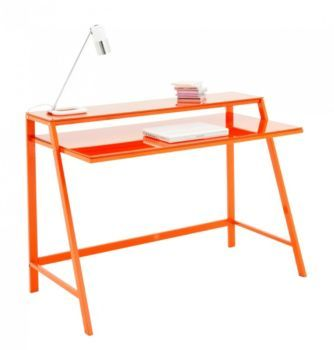 RECTY FLY blanc ou orange 120cm 121e Bureau enfant ou