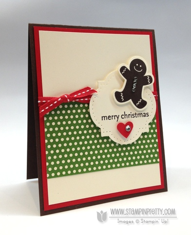 Stampin Up Stampinup Stamp It Holiday Catalog Big Shot Machine Framelits Gingerbread Man Punch