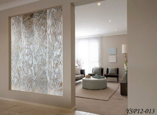 Art Glass Room Dividers Art Interior Carved Decorative Panels For Room Dividers Laminated Decor Interior Decorative Panels