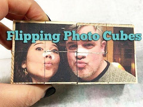 Balzer Designs: Valentine's Day Flipping Photo Cubes