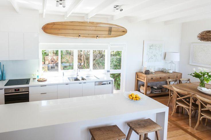 Beach House Coastal Style Kitchen My Home Pinterest Beach