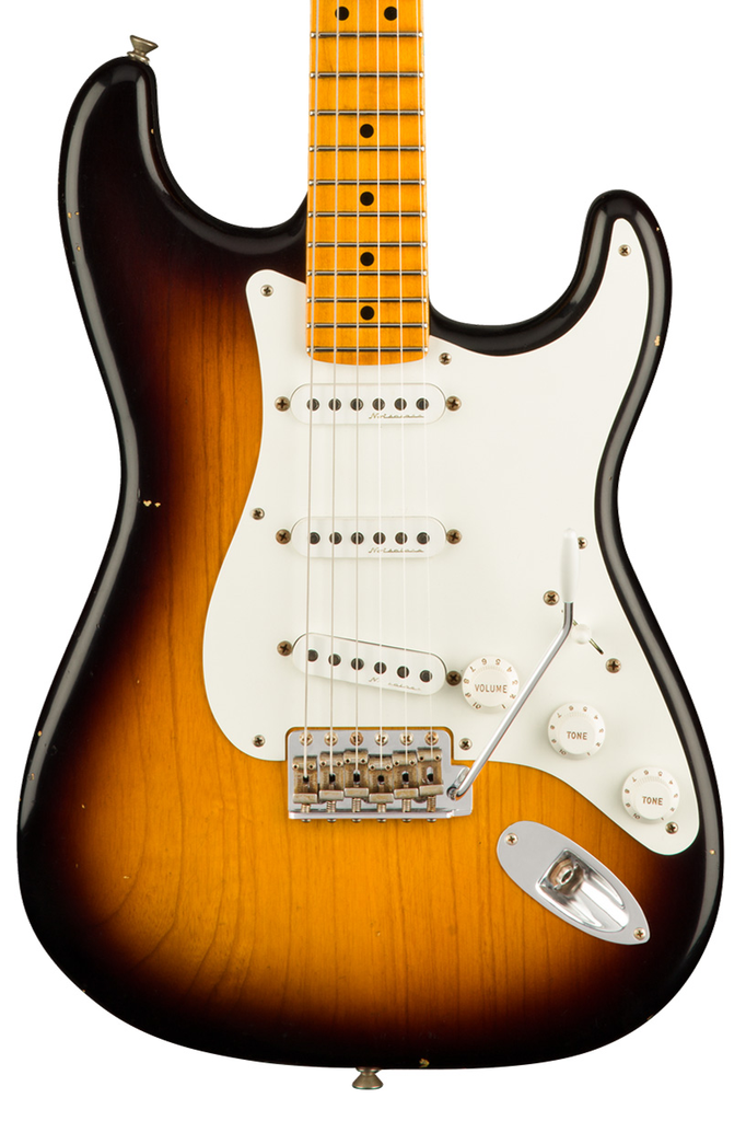 Fender Custom Shop Journeyman Relic Eric Clapton Signature Stratocaster 2 Color Sunburst Eric Clapton Capas De Albuns