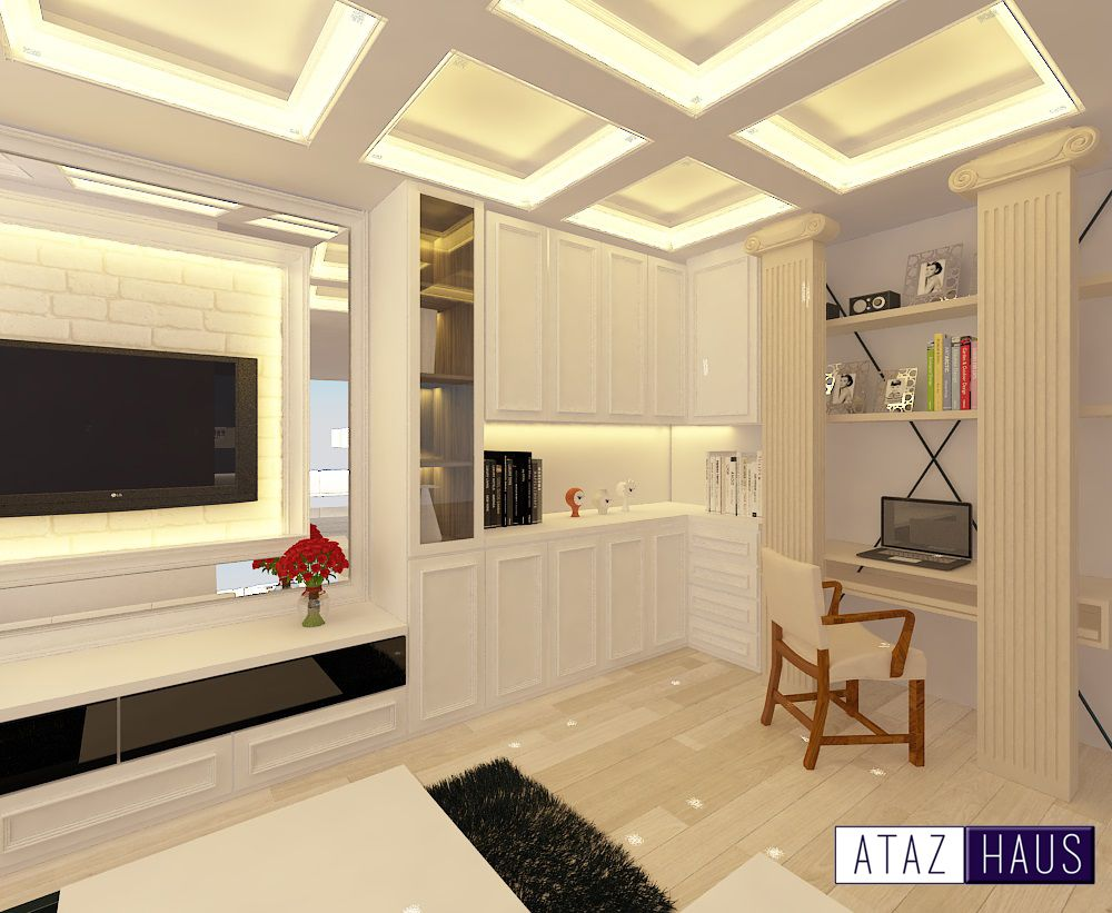 3D Design Colonial Theme | 3D Drawing - Living Room | Pinterest ...