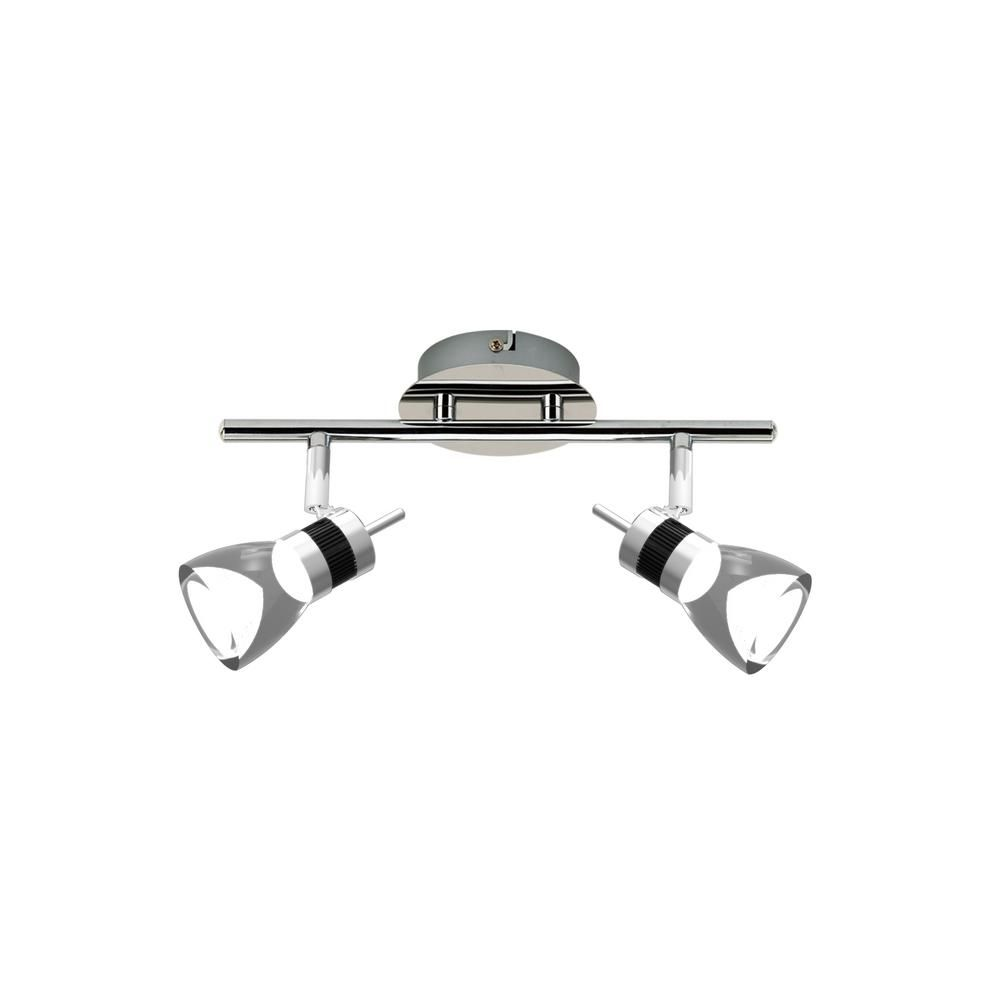 how to install track lighting. BELDI LED 11.8 Inches 2-Light Brushed Chrome Integrated Track Lighting Kit How To Install