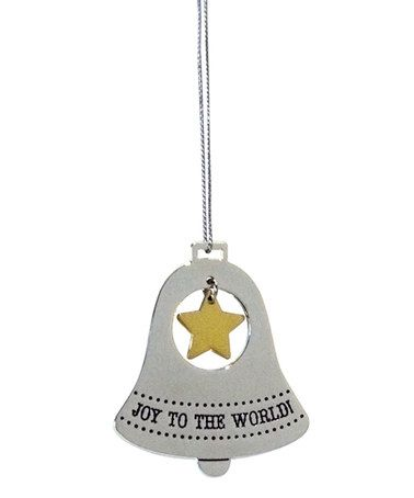 Loving this Silver-Plate Bell Ornament on #zulily! #zulilyfinds