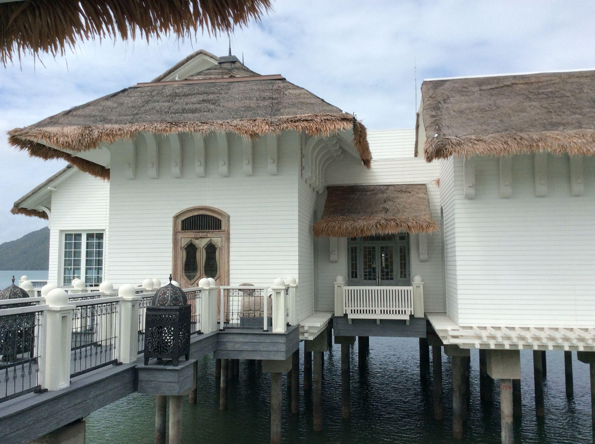 Malay House Architecture Style Kayu Puti Restaurant Langkawi