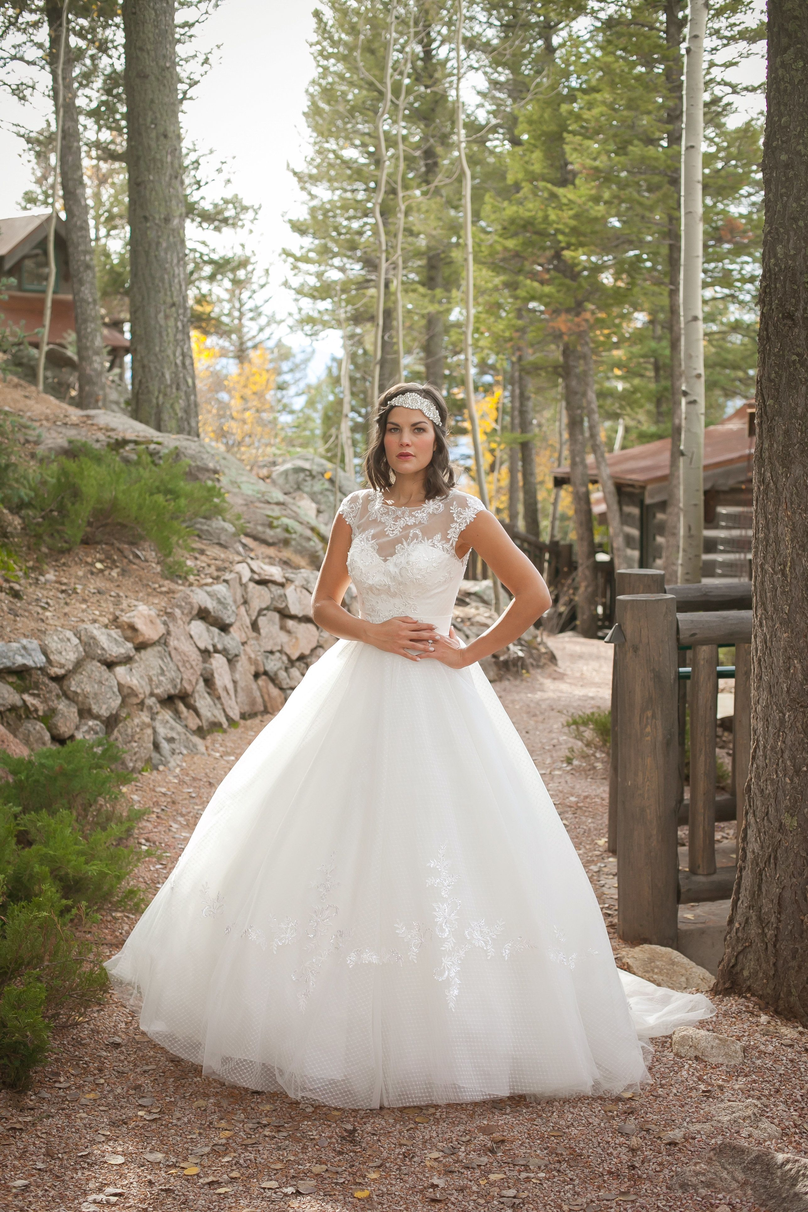 Check Out This Beautiful Wedding Dress From The Divina Collection Designed By Mindi Owner