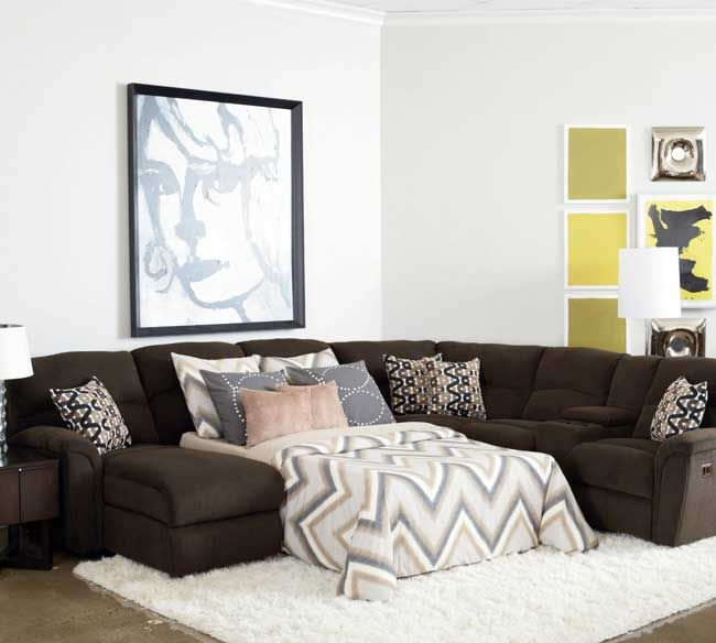 Next Furniture Living Room: Like That This Has A Chaise And Recliner With Sleeper Lane