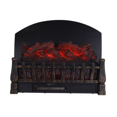 Caesar Fireplace Fp201r P Stove Adjustable Electric Log Set Heater