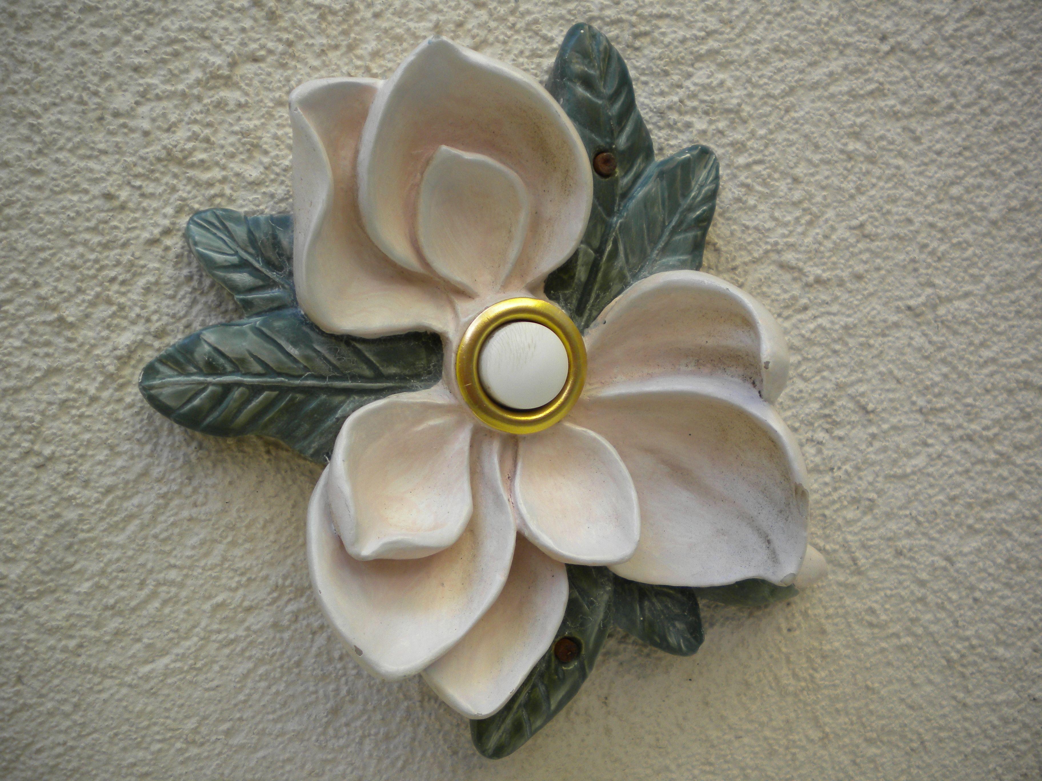 Welcome Flower Doorbell Doorbell Cover Doorbell