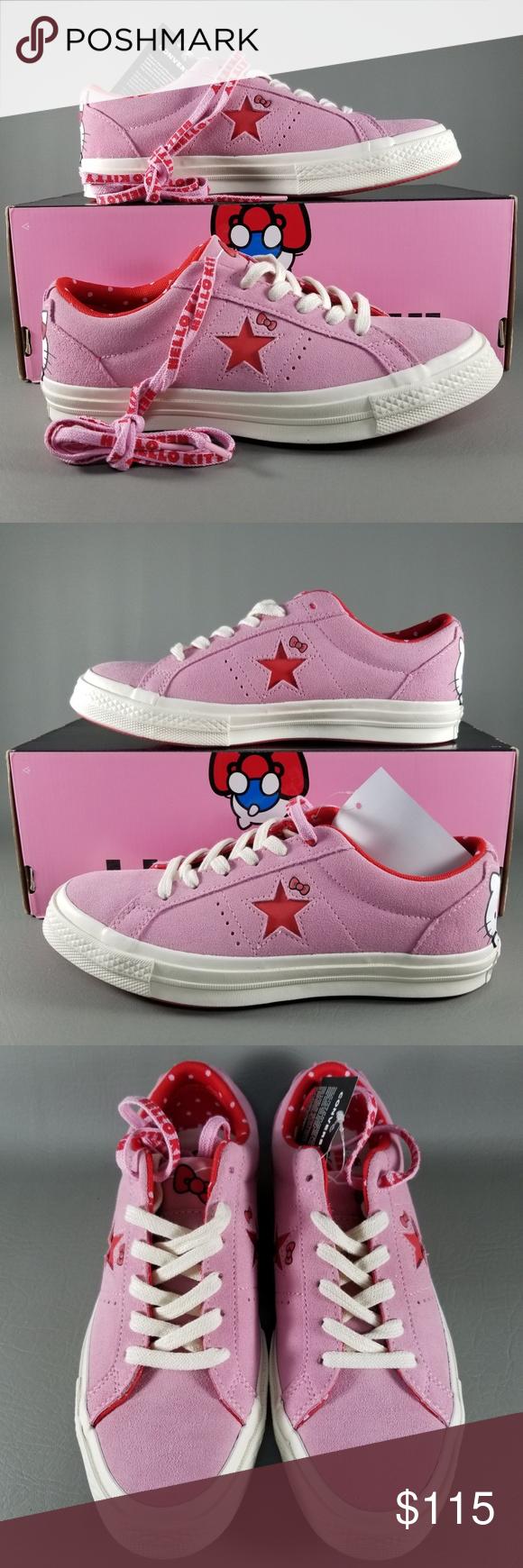 2537852339dd83 Converse X Hello Kitty One Star Ox Women Shoes 7.5 Converse X Hello Kitty One  Star
