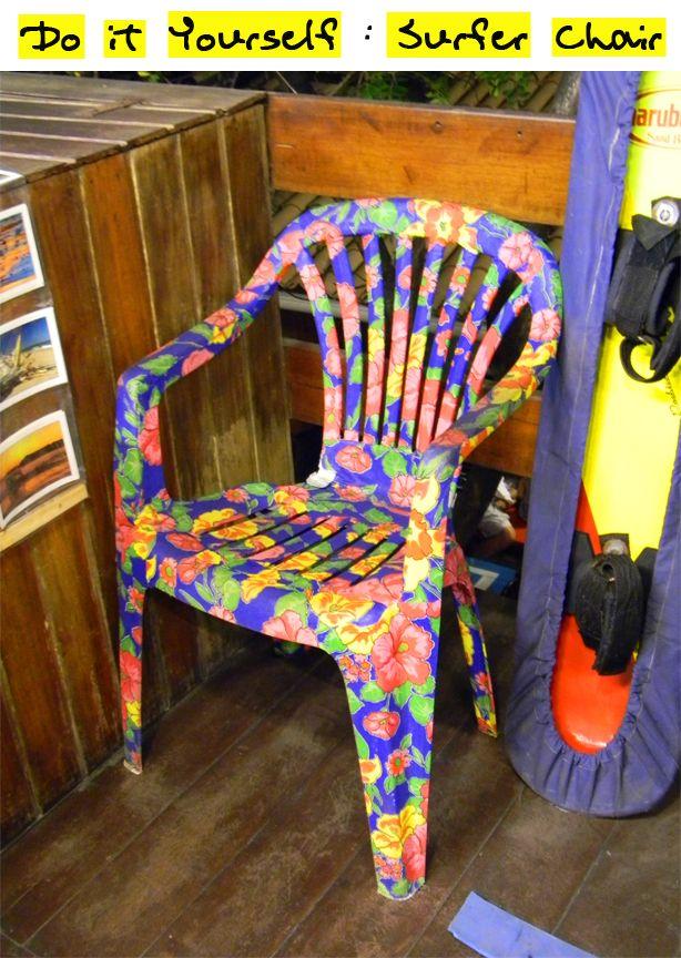 DIY : Cadeira de Chita!