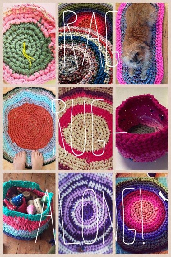 Summer Crochet Rag Rug Along Hodge Podge Farm