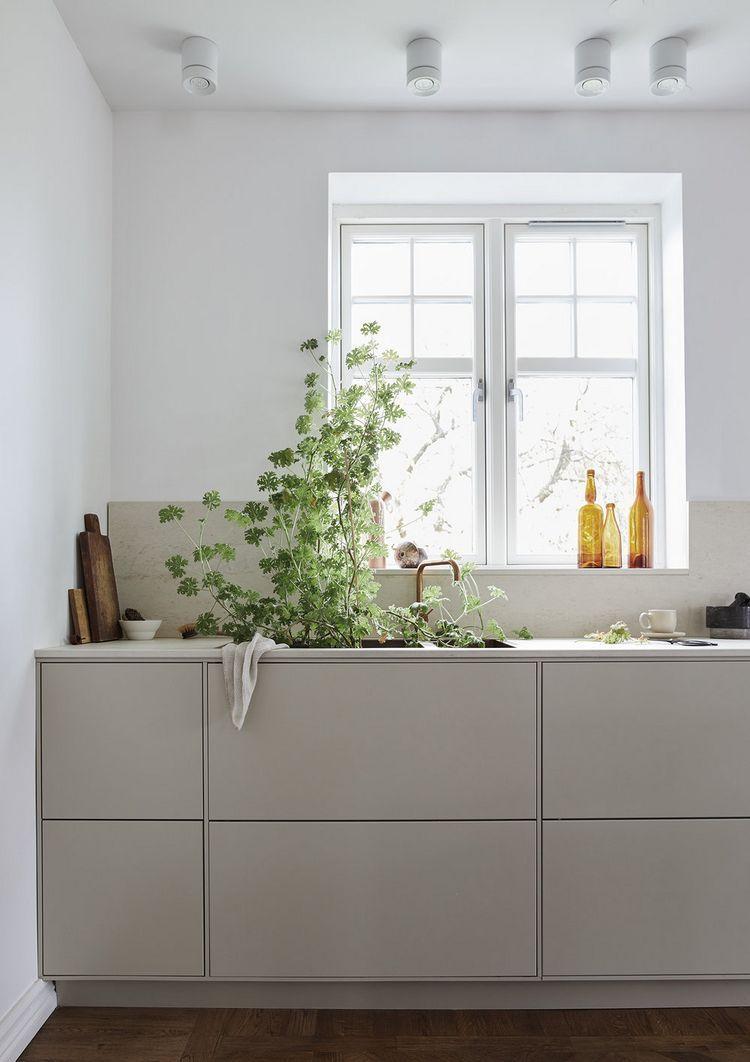 Köket och bänkskivan! (Daniella Witte) #minimalistkitchen