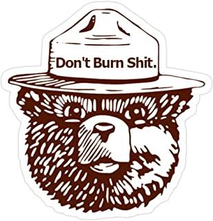 Amazon Com Smokey Bear Bumper Sticker In 2021 Bumper Stickers Smokey The Bears Smokey
