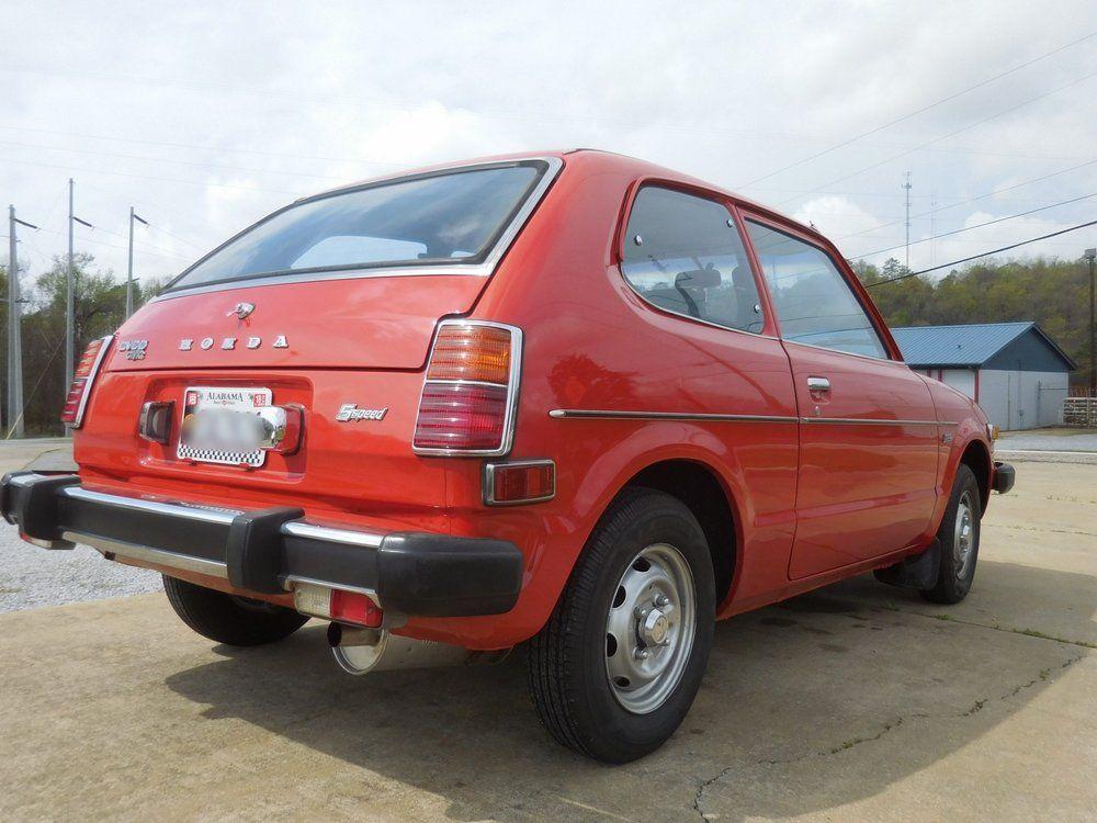1978 Red Honda Civic   Honda civic, Honda, Civic