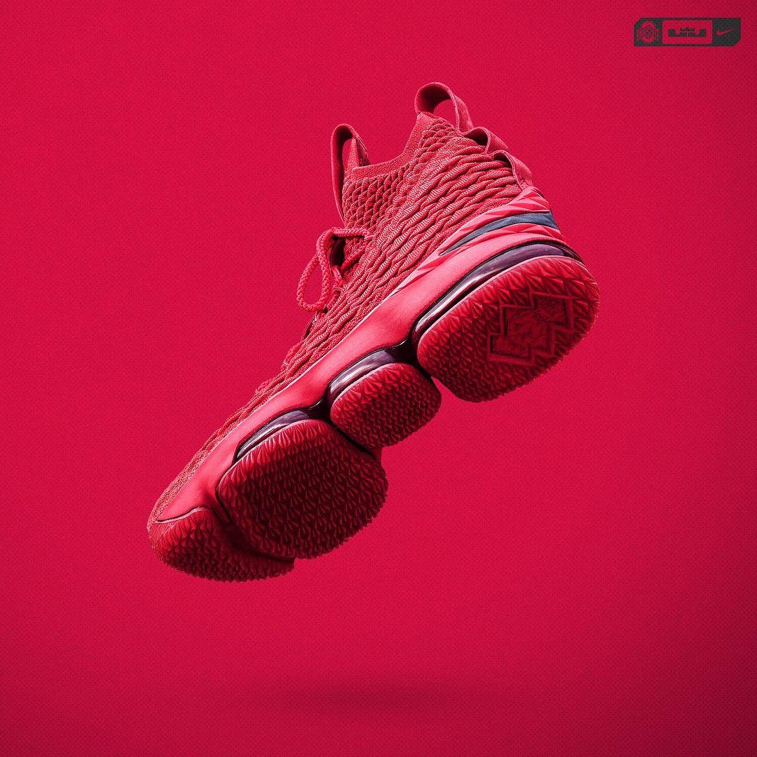 lebron 15 ohio state shoes