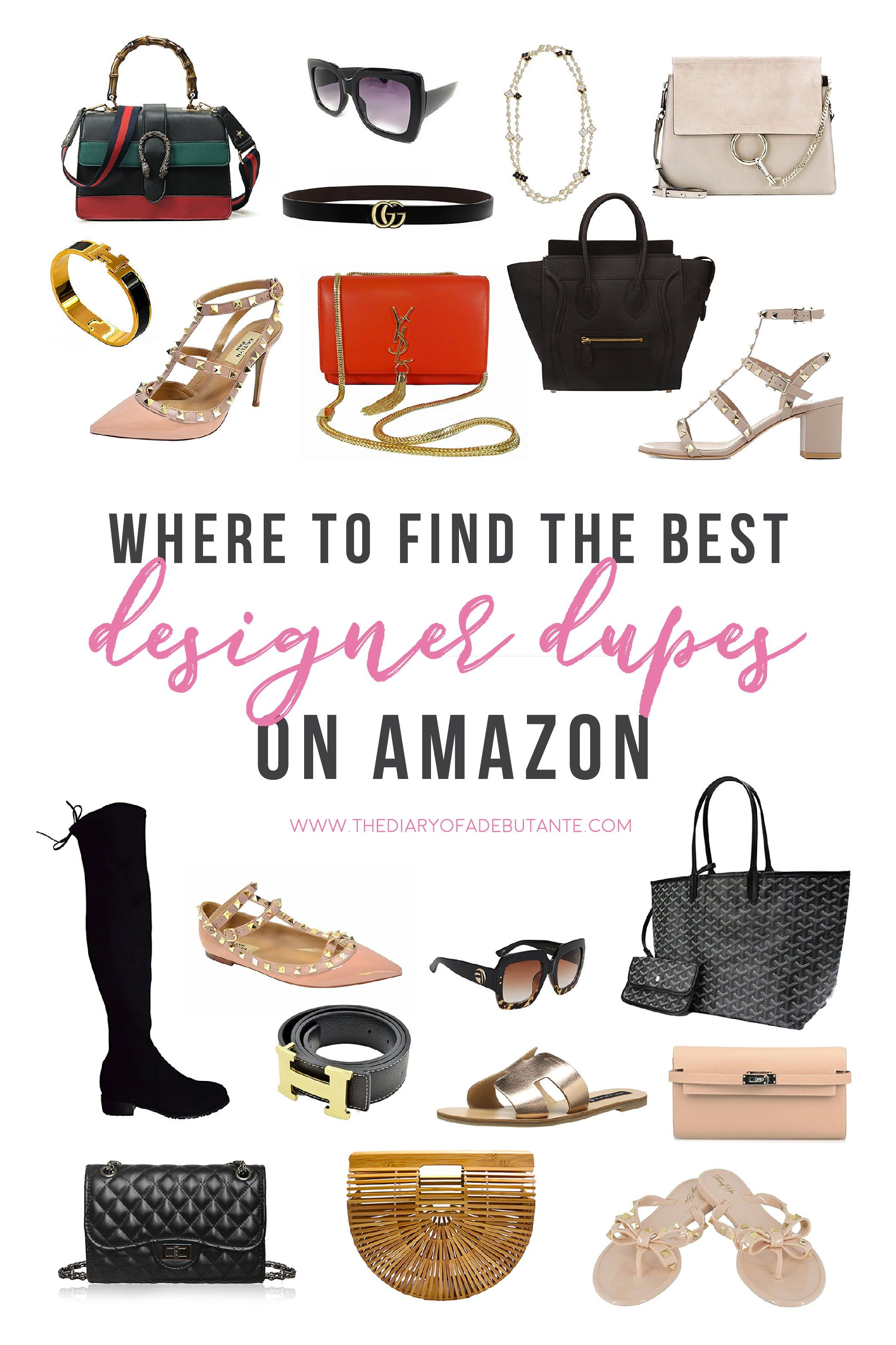 34d0a3a73b All of the best designer dupes on Amazon rounded up in one place! If you