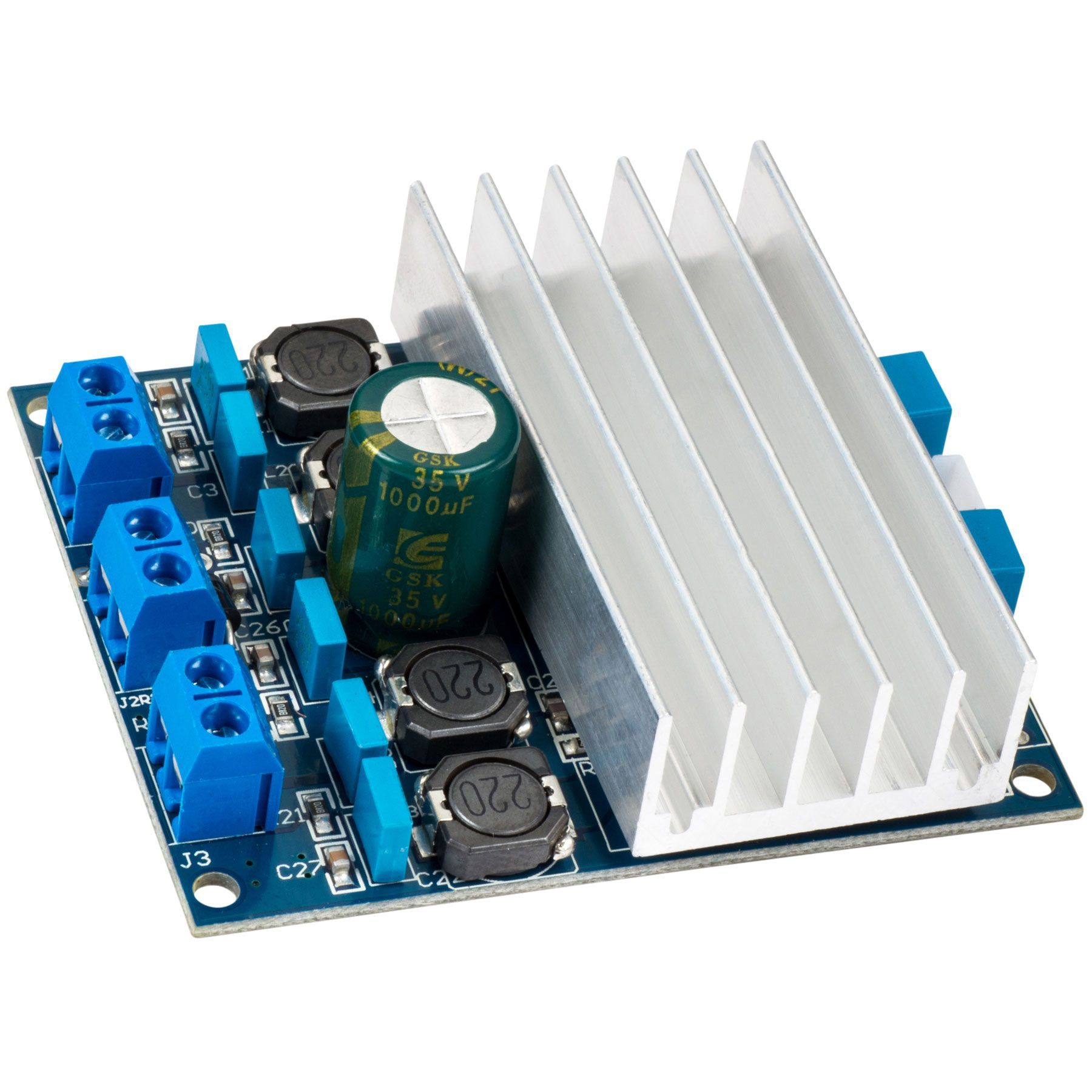 Tda7492 Digital Audio Amplifier Board 2x50w Custom Speakers With The Potentiometer Controlled By Arduino Uno