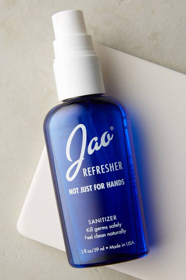 Jao Brand Refresher Not Just For Hands Sanitizer Anthrofave