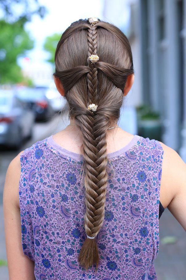 Fishtail Mermaid Braid | Cute Girls Hairstyles | braid hairstyles ...