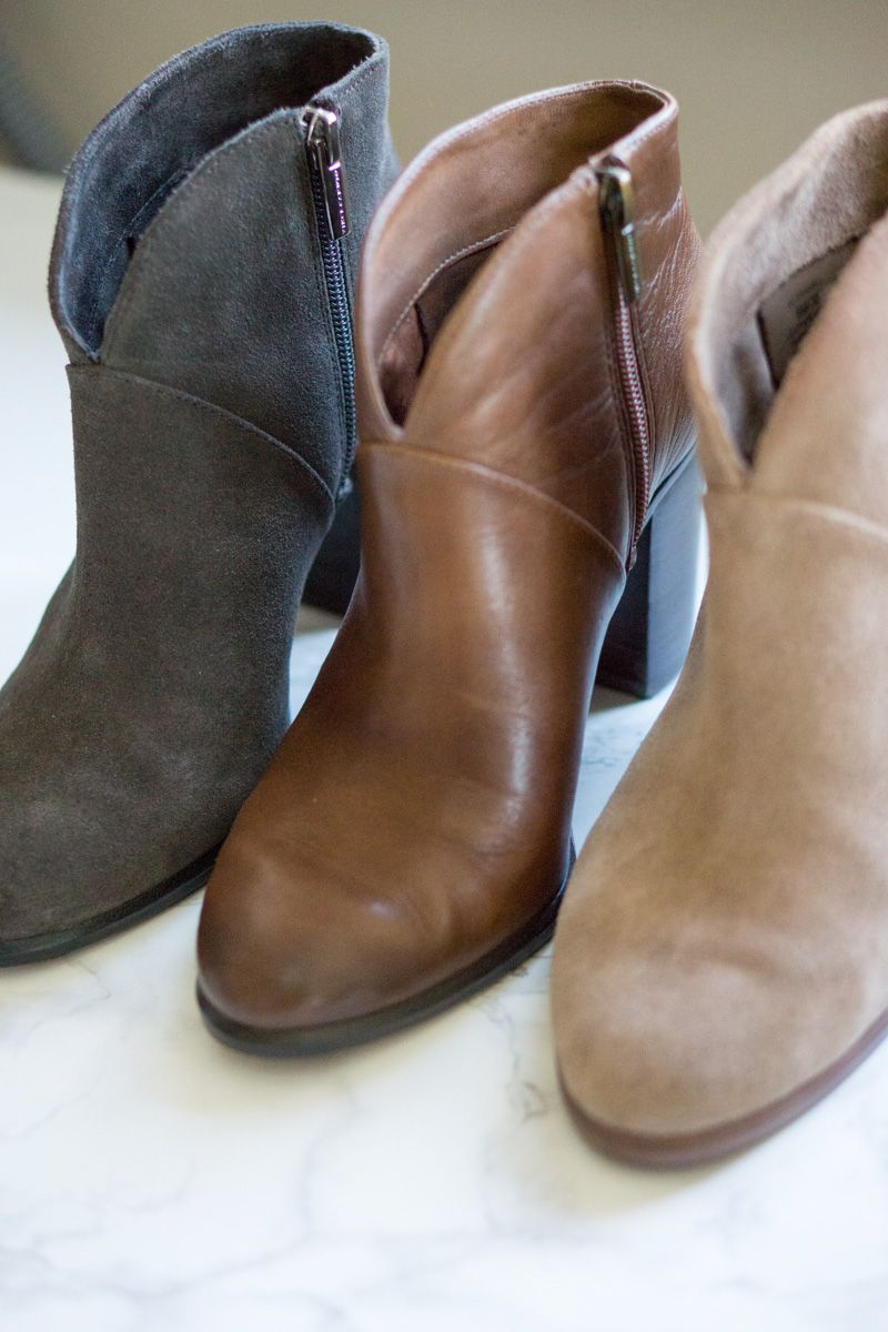 Vince Camuto Franell Booties Review   Petite style