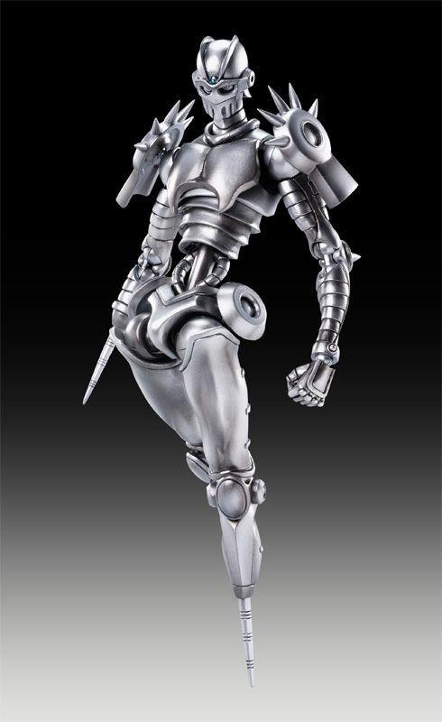 JoJo/'s Bizarre Adventure 3 Silver Chariot JP Polnareff figure