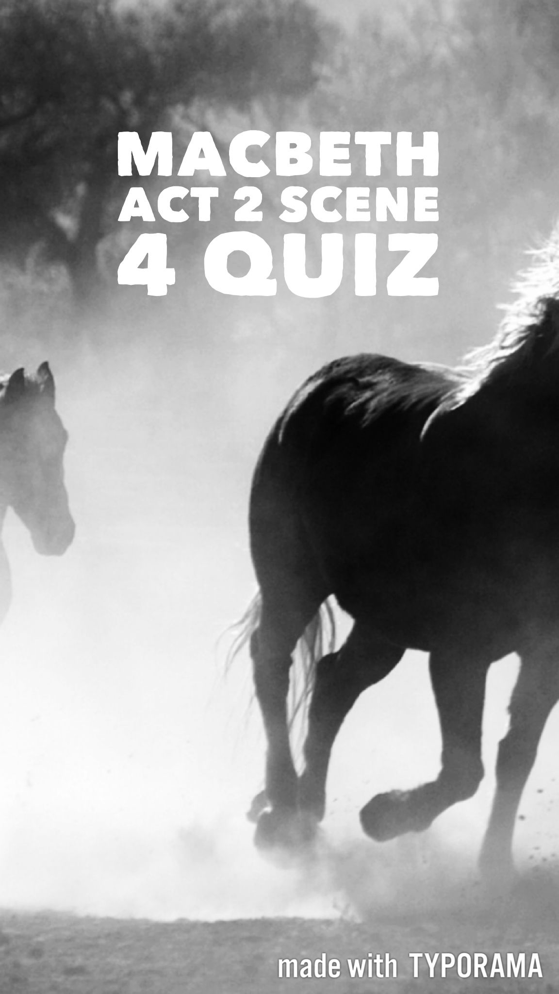 A Short Quiz With Answers Based On Act 2 Scene 4 Of