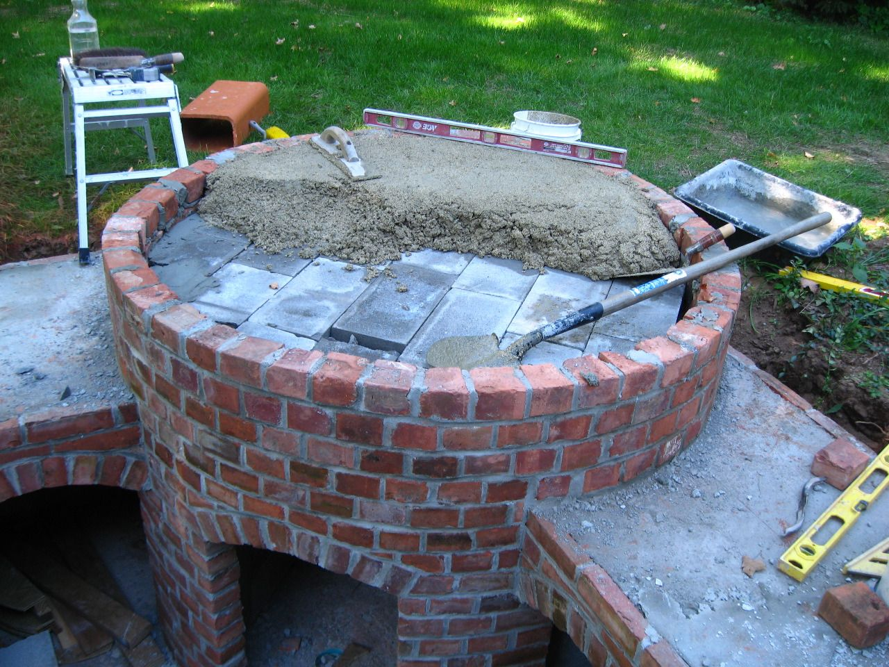 Dominick S Pizza Oven Forno Bravo Forum The Wood Fired Oven