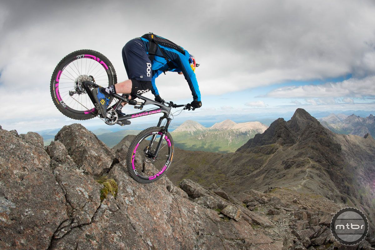 Video Danny Macaskill In The Ridge Mtbr Com Santa Cruz